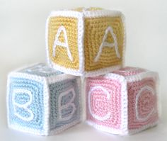 The blocks are crocheted in 6 pieces (each crocheted in the round) that are then crocheted together so that no sewing is required.  This pattern contains a step-by-step photo tutorial for assembling the pieces.