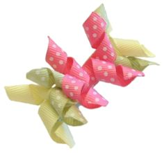 How To Make Mini Ribbon Korker Clips : Hip Girl Boutique - , Ribbons, Hair Bows, Hair Clips, Hairbow Hardware, Free Hairbow Instructions