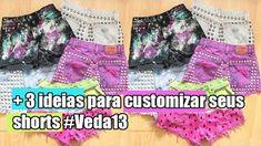 Como customizar shorts | faça você mesmo - diy | moda feminina