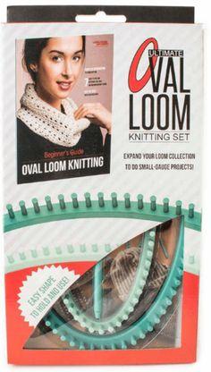 Ultimate Oval Loom Knitting Set