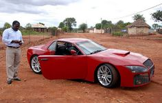 #See the 'luxury' car which took a South African man 3 years to construct (photos) #vibes247
