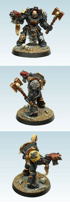Space Wolves Terminator Wolf Priest Golden Demon UK 2012