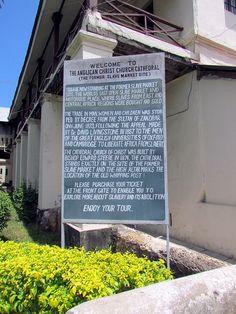 Former slave market