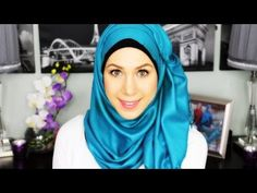 ♡ Side Swept Hijab Tutorial - YouTube