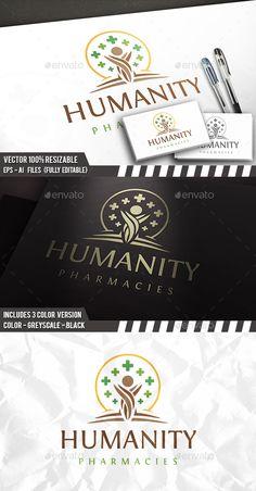 Health Tree Logo Template PSD, Vector EPS, AI Illustrator