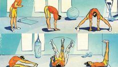 6 ejercicios para estirar tus isquiotibiales