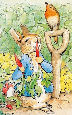 10 of the greatest children's book illustrators, from EH Shepard to Quentin Blake Beatrix Potter Illustrations, Illustrations Posters, Eh Shepard, Peter Rabbit Nursery, Beatrice Potter, Peter Rabbit And Friends, Bunny Art, Children's Book Illustration, Easter Illustration