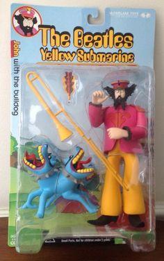 Beatles Yellow Submarine Figure John with The Bulldog Mint | eBay