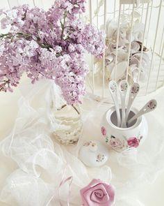 #shabbychic #vintage #shabbychicdecor #shabbychicdecoration #leylak #porcelain