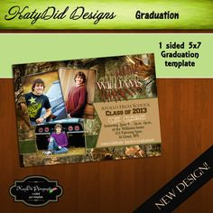 5x7 double sided graduation invitation bake sale pinterest
