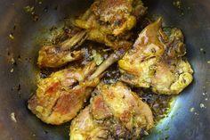 Simple golden chicken