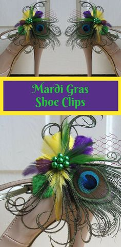 Dress up your shoes for Mardi Gras without breaking the bank! #mardigras #shoes #ad