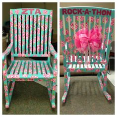such a cute rocking chair!