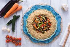 Il cous cous alle verdure  è un primo piatto tipico mediterraneo, semplice, veloce e ricco di profumi!