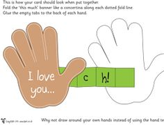 Mother's Day 'I LOVE YOU THIS MUCH' card http://activities.tpet.co.uk/#/viewResource/id559