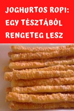 Egy tésztából rengeteg lesz! #ropi #tészta #joghurtos Crockpot Recipes, Chicken Recipes, Cooking Recipes, Beef Steak, Keto Dinner, Dairy Free, Dinner Recipes, Food And Drink, Favorite Recipes
