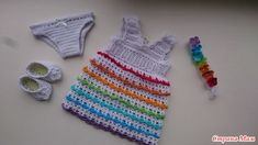 Uzupełnienie garderoby Bonechki - Szafa dla lalki - Country of Moms Crochet Top, Crochet Hats, Baby Born, Country, Fashion, Moda, Rural Area, La Mode, Fasion