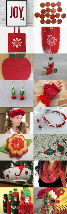 Holiday Joy by Cassie on Etsy--Pinned with TreasuryPin.com