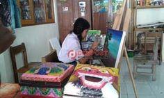 Lukisan Siswa SLB Bangli Tembus Nasional - http://denpostnews.com/2017/07/11/lukisan-siswa-slb-bangli-tembus-nasional/