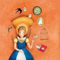Alice in Wonderland-esther garcía cortés