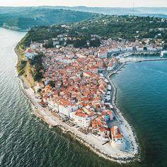 Piran,  Slovenia    by @barnadrift