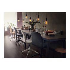 IKEA NITTIO LED bulb E27 20 lumen Gives a nice decorative light.