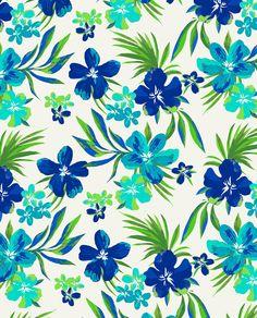 Hawaiian Florals by Marisa Hopkins | marisahopkins.com