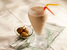 Cappuccino + Figo em calda = <3   #Receita #Cafe #Figo