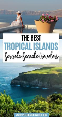 The Best Tropical Islands for Solo Female Travelers. Looking for the best tropical islands to visit on your next vacation? Here is a list of the best tropical islands for single female travelers. Tropical Islands to Visit | Tropical Islands Resort | Tropical Island Paradise | Solo Female Travel Destinations | Tropical Solo Travel | Solo Female Travel Tropical | Tropical Islands To Visit, Single Women, Solo Travel, Adventure Travel, Travel Destinations, Vacation, Female, Road Trip Destinations, Vacations