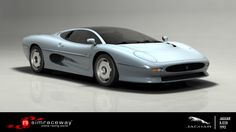 Designed by the now-legendary 'Saturday Club' and built in conjunction with Tom Walkinshaw's Jaguar Sport company, the car that would become known as the XJ220 was developed to shake up the supercar scene and ignite a new Jaguar racing heyday.    To drive Jaguar's first production supercar, get the XJ220 today on Simraceway.