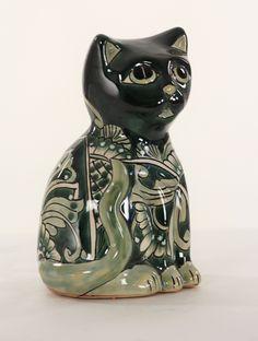 Талавера Cat Зеленый Малый