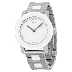 Movado Bold White Dial Mens Watch 3600162