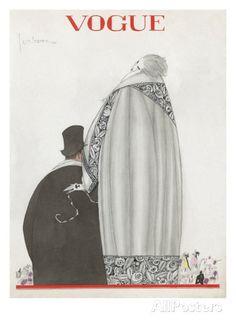 Vogue - October 1920 Premium giclée print van Georges Lepape bij AllPosters.nl