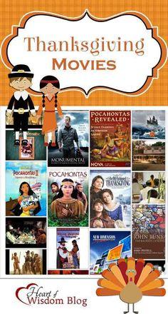 Thanksgiving Movies, Crafts, & Clip Art & Freebie