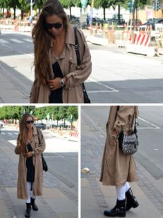 Beautiful Danish blogger Maria from Lavishlavish.dk spotted again in our trench coat (buy it on www.objectfashion.com). WE LOVE THE LOOK read more here: http://lavishlavish.com/?s=object #objectfashion