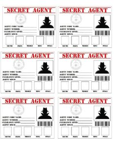 Items similar to Secret Agent/Spy/Detective Birthday Invitation on Etsy Fête D'agent Secret, Geheimagenten Party, Secret Agent Party, Secret Agent Games, Spy Birthday Parties, Detective Theme, Mission Possible, Spy Games, Spy Kids