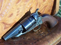 "Custom Snub nosed ""Sheriff's Model"" 1860 Army .44 cal. Colt revolver reproduction"