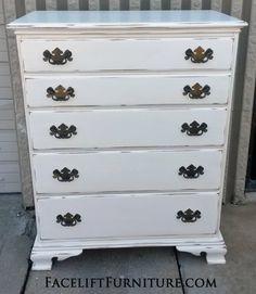 Bon Antiqued White Refinished Furniture. Refinished Bedroom FurnitureAntique  White FurnitureDistressed ...