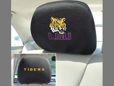 Louisiana State University Head Rest Cover