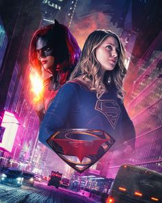 Batwoman and Supergirl by PZNS on DeviantArt Marvel Comics, Dc Comics Superheroes, Dc Comics Art, Marvel Dc, Supergirl Superman, Supergirl And Flash, Marvel Comic Character, Marvel Characters, Batwoman