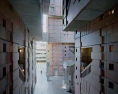 Souvenir d'un Futur, series by  Laurent Kronental in Paris' Grands Ensembles suburbs