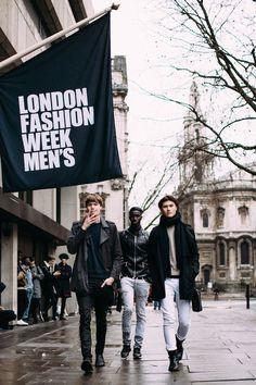 Moda uliczna London Fashion Week Men's jesień-zima 2017/2018