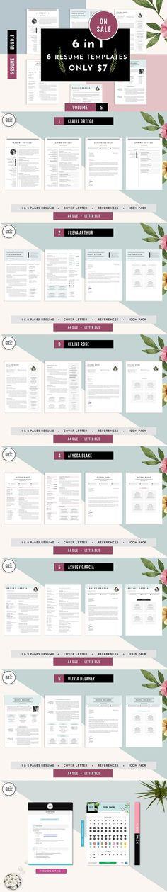 CV Resume Template Bundle Vol 5 #CvTemplate #stationeries #ResumeTips #proresume #modernresumetemplate #moderncvtemplate #microsoft #CurriculumVitae #resumetemplate #2pagesresume #curriculumvitae #diy #applicationletter #coverletter #cvword #simpleresume #editableresumetemplate #StationeryTemplates #ResumeTemplateDesign Simple Resume Template, Cv Template, Resume Templates, Stationery Printing, Stationery Design, Resume Cv, Resume Design, Perfect Resume, Cover Letter Template