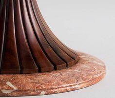 Round Marble Dining Table by Osvaldo Borsani image 5