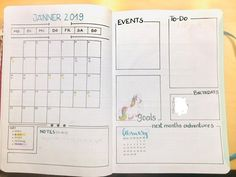 every month will have a starting overview page : bujo Every Month, Planner Board, Bujo Weekly Spread, Bullet Journal Inspo, Bullet Journals, Father Birthday, Travelers Notebook, Reading, Productivity
