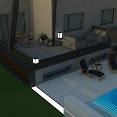 Casas de estilo moderno por Q Arquitectura