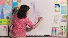 directed drawing for kids - YouTube