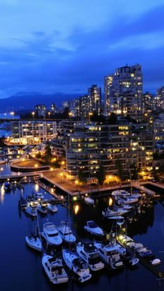 Vancouver, Canada #travel #places +++Visit http://www.hot-lyts.com/ for beautiful #background images