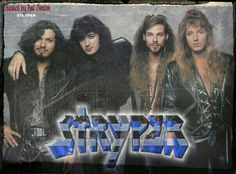 Stryper ~ Against The Law Era Isaiah 53 5, Metal Horns, Mom Died, Heavy Rock, Heavy Metal Bands, My Favorite Music, I Fall In Love, Cute Guys, Musicians