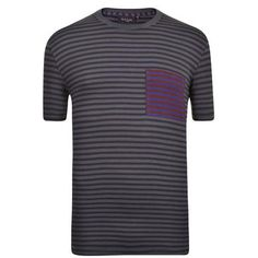 Short Sleeve Stripe T Shirt Description: Casual Paul Smith Jeans Striped T-Shirt is crafted from a soft cotton. This top boasts a crew neckline,  short sleeves and a contrasting pocket.  Size selection: British sizing Fits true to size, take your normal sizeCut with a regular fit100% cotton  Machine washable Grey XX... http://qualityclothing.me.uk/short-sleeve-stripe-t-shirt-5/